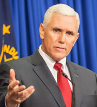 Gov. Pence reacts to HPI Poll saying 'politics will take care of itself'