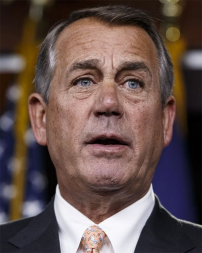 Boehner calls Trump a 'complete disaster'