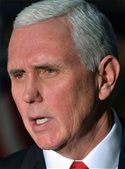 Pence blames Democrats for shutdown